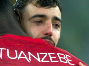 Villarreal l-a facut sa planga pe Bruno Fernandes! Portughezul, cu ochii in lacrimi dupa ce United a ratat trofeul Europa League