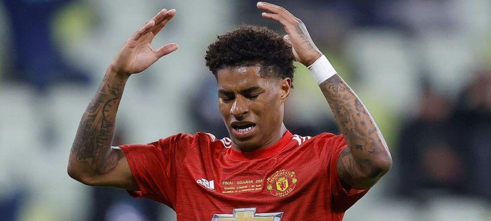 Rashford, abuzat pe retele de socializare dupa ce a pierdut finala cu Villarreal! Cum a reactionat atacantul lui United