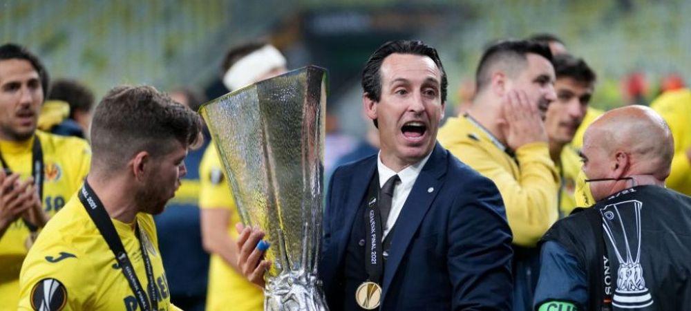 Despre campioni, numai de bine! Emery, la al patrulea trofeu Europa League! Declaratiile tehnicianului spaniol dupa un nou triumf