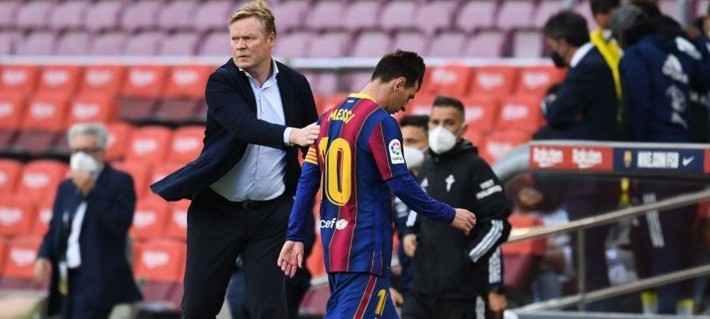 Barcelona trebuie sa-i dea o suma importanta de bani lui Koeman daca antrenorul va fi demis! Cati bani are de incasat olandezul