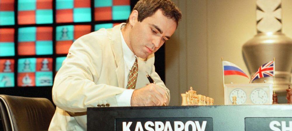 Legendarul Kasparov vine la Bucuresti! Un turneu important se organizeaza in Romania