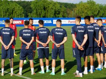 Primele imagini cu tricolorii U23 in Spania! Nicolae Dica a sustinut primul antrenament in cantonamentul preolimpic