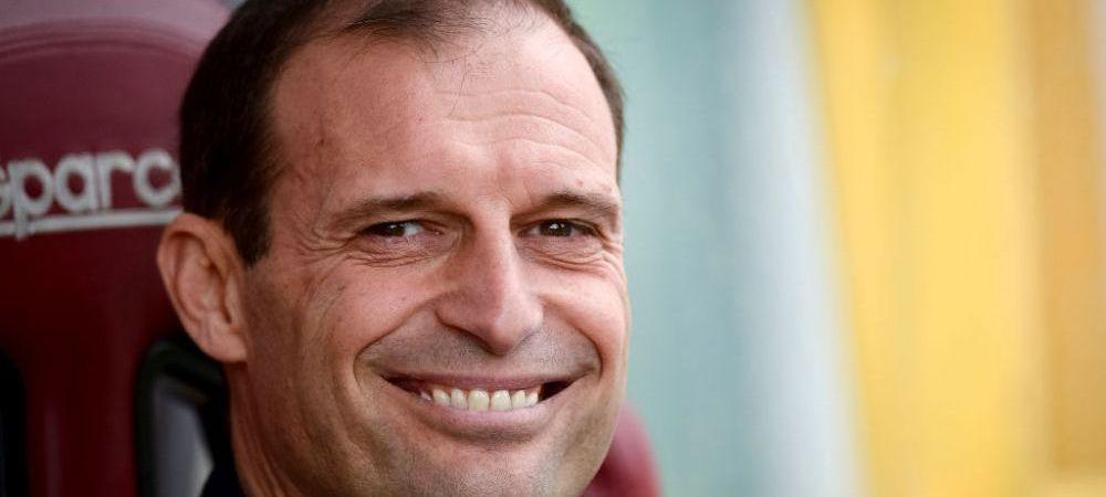 Allegri nu vine singur! Ce jucator este primul pe lista de transferuri a lui Juventus si ce se intampla cu Chiellini