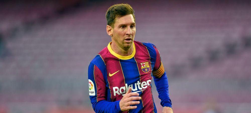 Anuntul de ultima ora facut de Laporta despre Messi! In ce stadiu sunt negocierile pentru prelungirea contractului