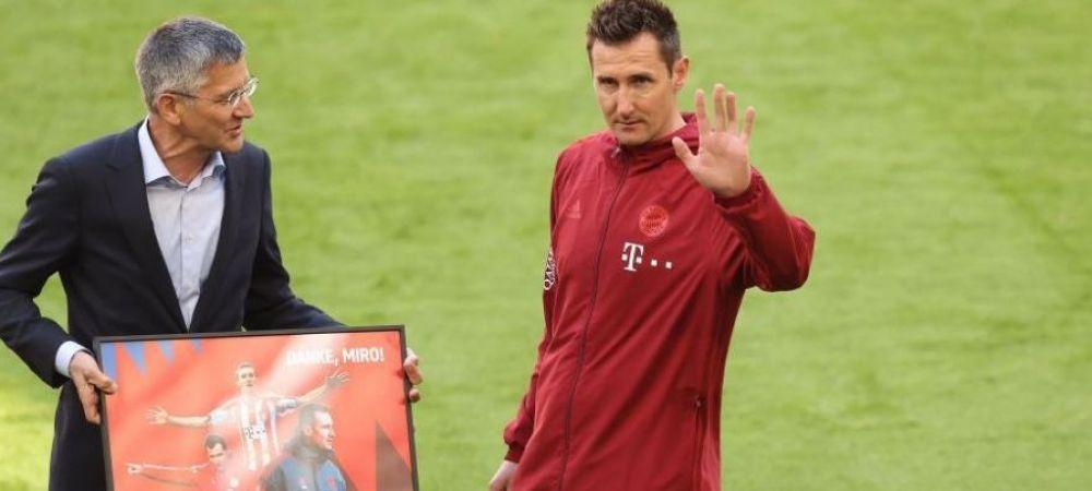 Probleme grave de sanatate pentru Klose! Golgeterul Cupei Mondiale, aproape sa rateze preluarea unui club din Germania