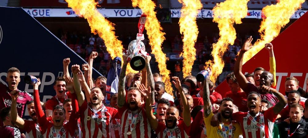 Victorie istorica pentru Brentford! Echipa se intoarce in Premier League dupa 74 de ani si va incasa 180 de milioane de euro! Imagini fabuloase
