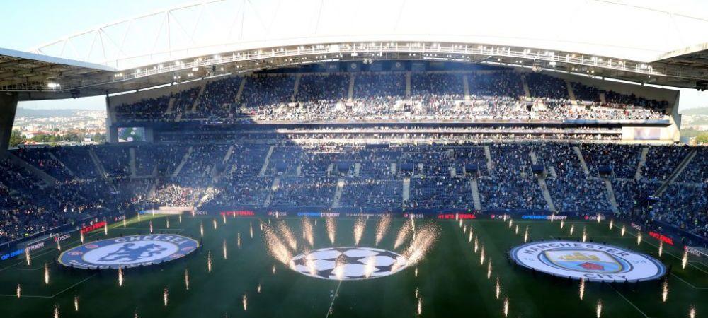 Absolut genial! Spectacol fabulos in deschiderea finalei Champions League! Imagini superbe din Portugalia