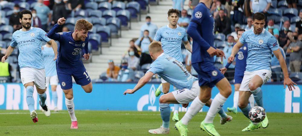 Werner, show in finala Champions League! Atacantul lui Chelsea, doua sanse uriase de a deschide scorul