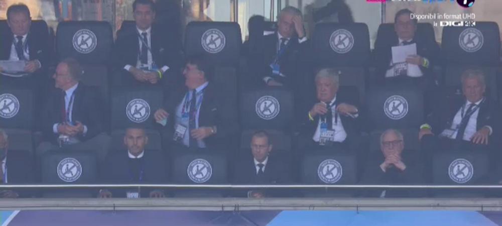 Burleanu, prezent in tribune pentru finala Champions League! Presedintele Federatiei, surprins alaturi de sefii UEFA