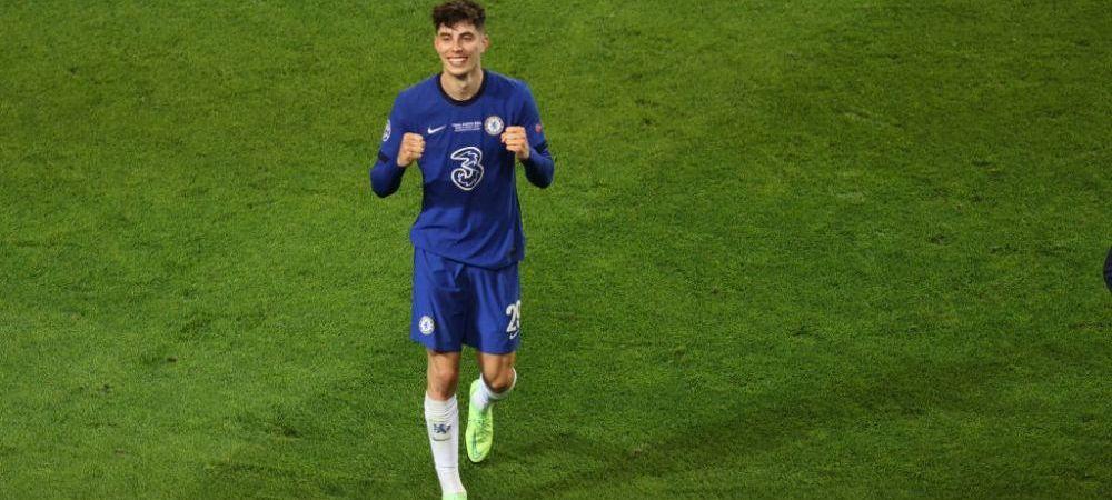 """""""Mi se rupe de asta!"""" Reactie geniala a lui Havertz dupa ce castigat Champions League cu Chelsea! Ce a spus la interviul de la final"""