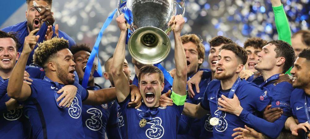 Imaginile bucuriei la Porto! 'Zidul' Kante, protagonist la finalul meciului! Jucatorii lui Chelsea au sarbatorit in stil mare castigarea Champions League