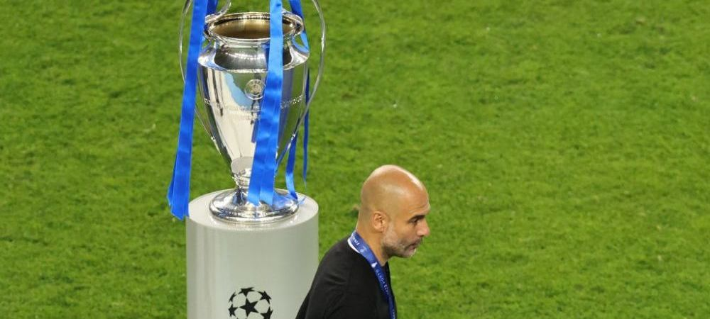 """""""A fost prima noastra finala!"""" Ce a spus Guardiola dupa ce a pierdut finala Champions League cu City"""