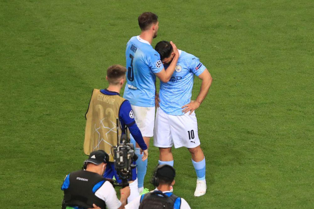 Aguero, mai emotionat ca niciodata dupa finala Champions League pierduta! Atacantul a jucat ultimul meci in tricoul lui City si a plans la final