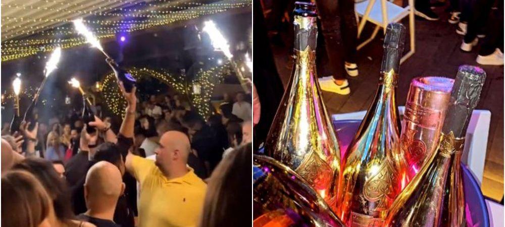 El este milionarul care a aruncat cu bani intr-un club din Bucuresti! Barbatul care a cheltuit 100 000 de euro in doar cateva ore