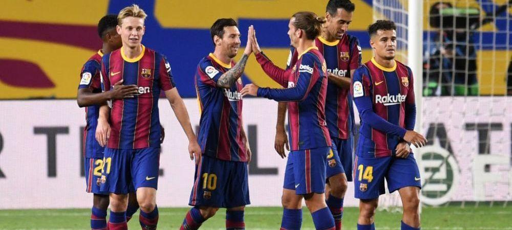 Barcelona isi poate pierde vedetele! Care sunt fotbalistii care pot pleca de pe Camp Nou in vara si ce super-destinatii ar avea