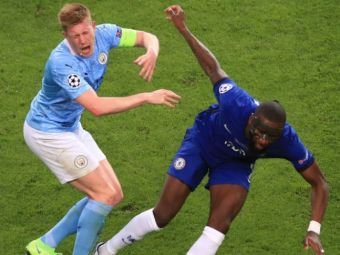 """""""Trebuia eliminat! Rudiger, facut praf de selectionerul Belgiei dupa ce l-a facut KO pe De Bruyne in finala Champions League"""