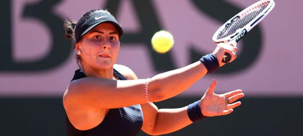 Nu isi mai revine?! Bianca Andreescu a pierdut cel mai dramatic meci, dupa 3 ore si jumatate de joc in primul tur la Roland Garros, in fata numarului 85 mondial