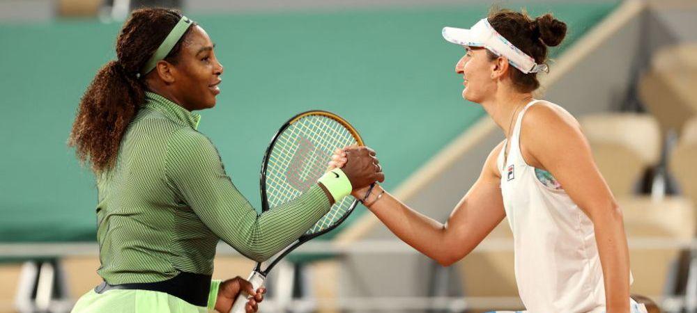Irina Begu, eliminata de Serena Williams, dupa doua mingi de set ratate: cu cati bani pleaca jucatoarea din Romania acasa