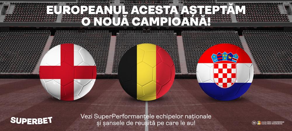 (P) Așteptăm noi campioane la Euro! Vezi principalele favorite!