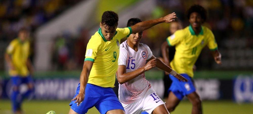 """""""Urmatorul Ronaldo"""" e cu un pas in Premier League! Tanarul de la Santos care a facut senzatie in Brazilia, dorit de Arsenal si Chelsea"""