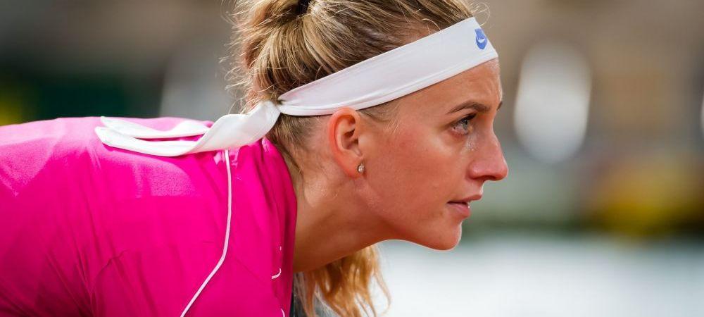 Culmea culmilor: Petra Kvitova s-a accidentat la conferinta de presa si s-a retras de la Roland Garros! Cum a fost posibil asa ceva