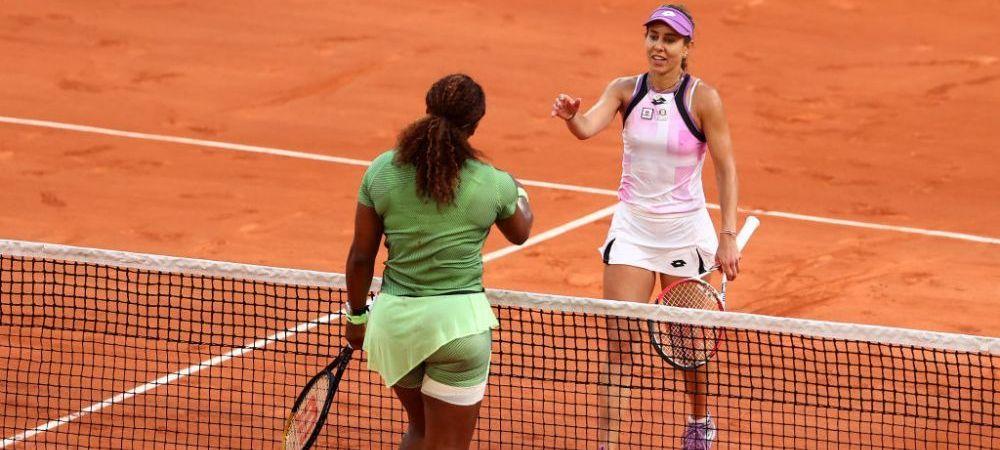 Visul frumos s-a terminat: Mihaela Buzarnescu - Serena Williams 3-6, 7-5, 1-6 in turul doi la Roland Garros! Buzarnescu a jucat admirabil in setul secund