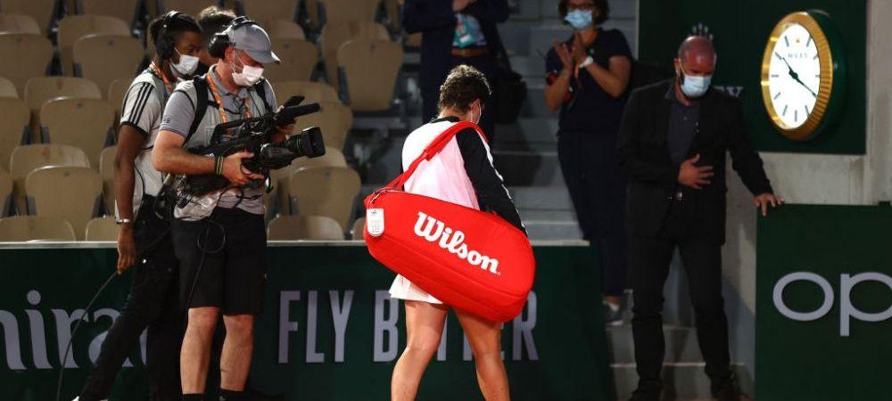 A invins cancerul, iar la doua luni dupa a fost la un pas sa bata o campioana de Grand Slam la Roland Garros: Carla Suarez Navarro a fost ovationata la ultimul meci jucat la Paris