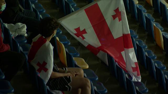COVID-ul tine fanii departe de nationala! Aproape 1000 de oameni in tribune la Romania - Georgia