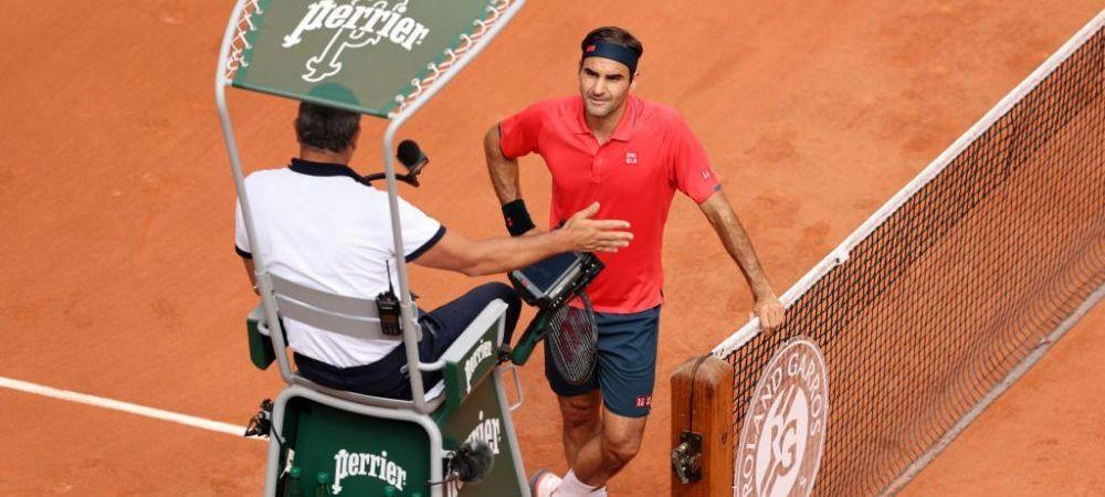 """""""Tu m-ai vazut vreodata jucand? Te-ai gandit... te-ai gandit gresit!"""" Roger Federer, scos din minti de arbitrul de scaun care l-a penalizat pentru tragere de timp"""
