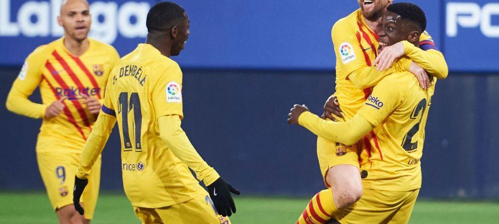 Barcelona ar putea ramane fara unul dintre pustii-minune ai sezonului trecut! Trei cluburi mari din Premier League se lupta pentru semnatura lui
