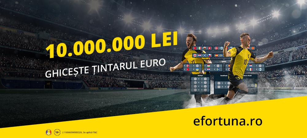 (P) O provocare de milioane. 10 milioane! Ghicește țintarul Euro pentru un premiu record!