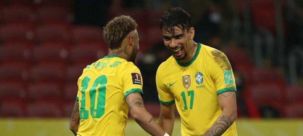 Neymar, decisiv pentru nationala Braziliei! Starul lui PSG a fost omul meciului in victoria contra Ecuadorului