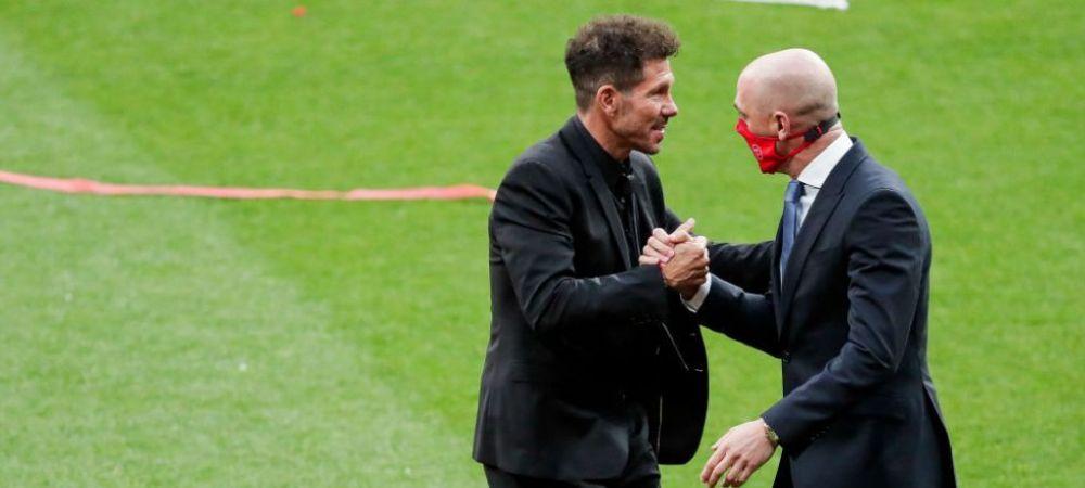 Atletico Madrid isi asigura viitorul! Conducerea clubului a inceput negocierile pentru prelungirea intelegerii lui Diego Simeone