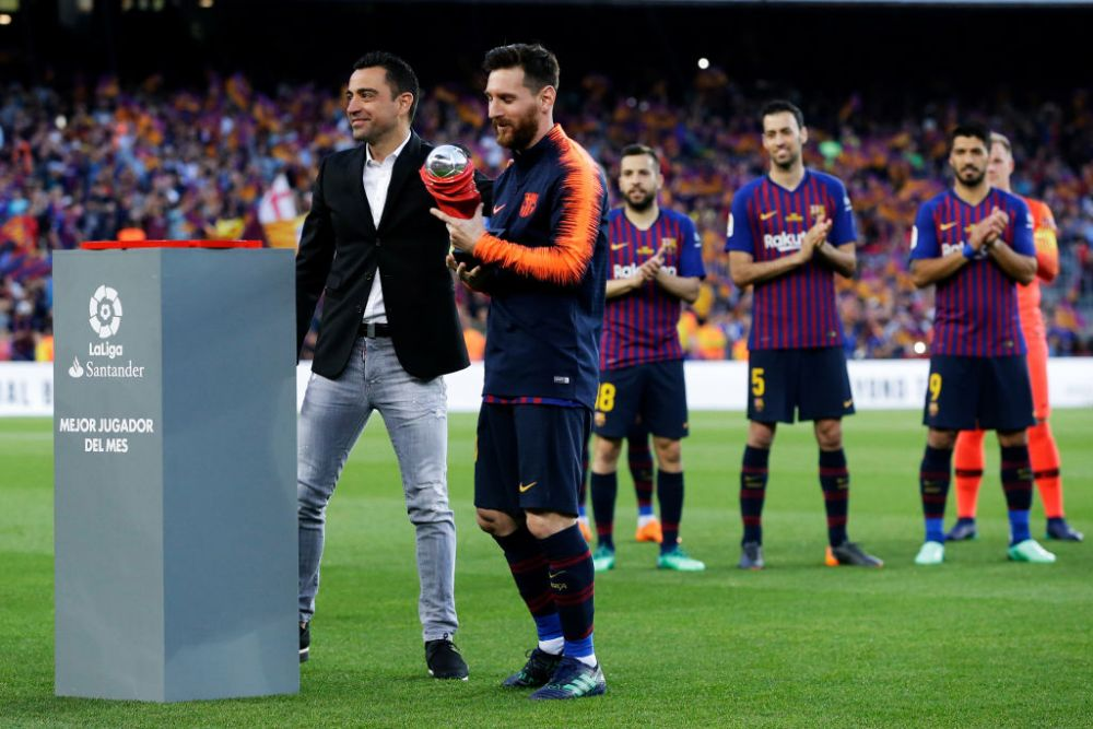 Xavi recunoaste ca putea antrena pe Barcelona!