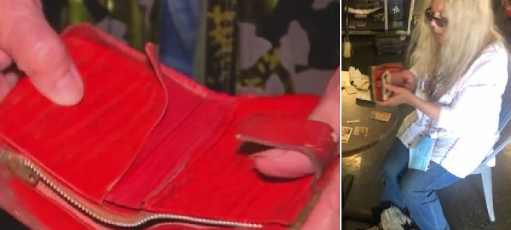 Aceasta femeie si-a gasit portofelul pierdut in urma cu 46 de ani! Ce era inauntru