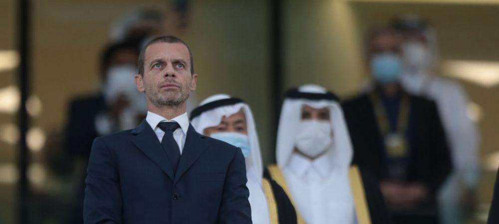 """""""Nu mai exista in ochii mei!"""" Ceferin, furios pe presedintele lui Juventus dupa Super Liga! Ce a spus"""