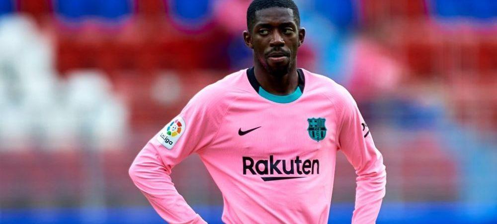 Dembele pune presiune pe Barcelona! Ce plan are agentul atacantului francez