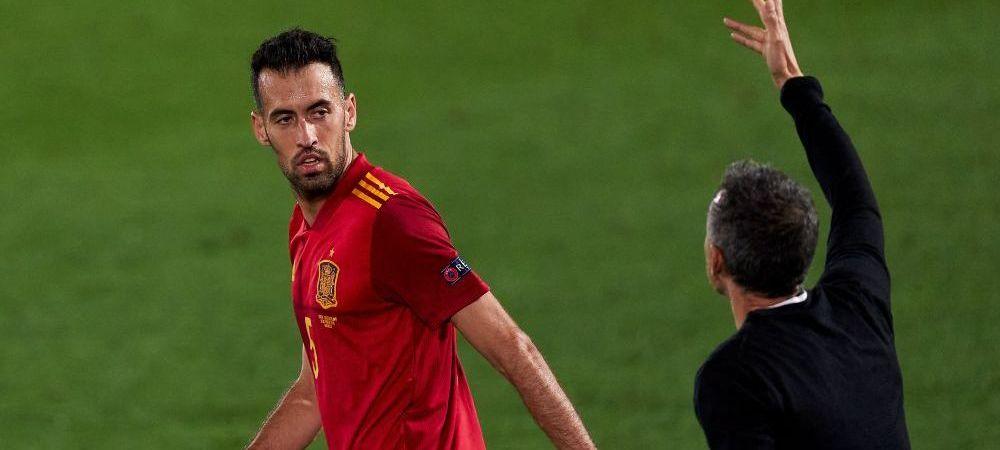 Capitanul Spaniei are coronavirus: Busquets, infectat! Spania schimba nationala pentru ultimul amical inainte de Euro! Anunt bomba la miezul noptii