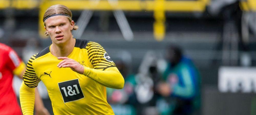 Haaland, implicat in afacerea verii in fotbalul mondial! 200 de milioane de euro pentru transferul atacantului