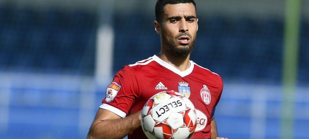 Rachid Bouhenna a semnat cu CFR Cluj! Anuntul oficial facut de club