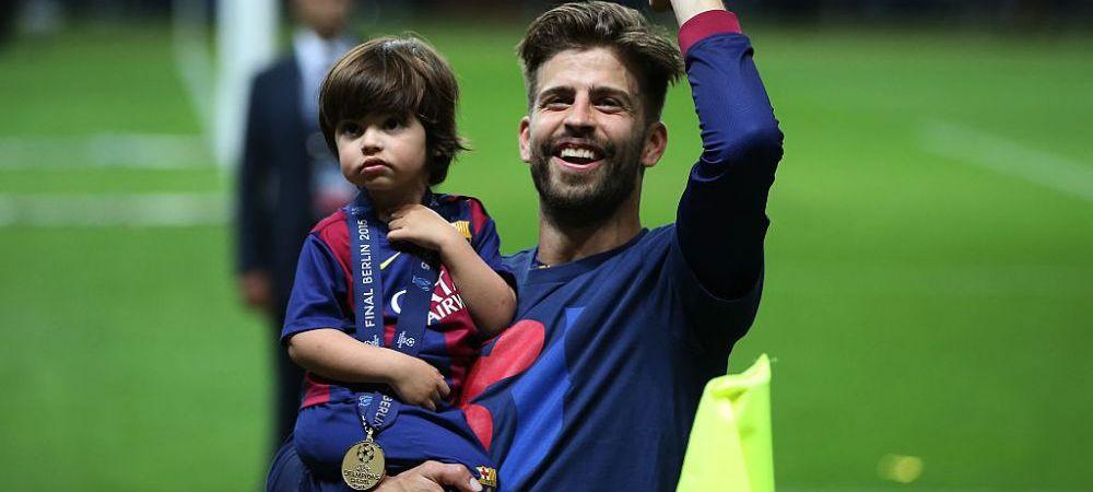 Fiul cel mare al Shakirei si a lui Gerard Pique a mostenit frumusetea parintilor. Cat de simpatic este Milan
