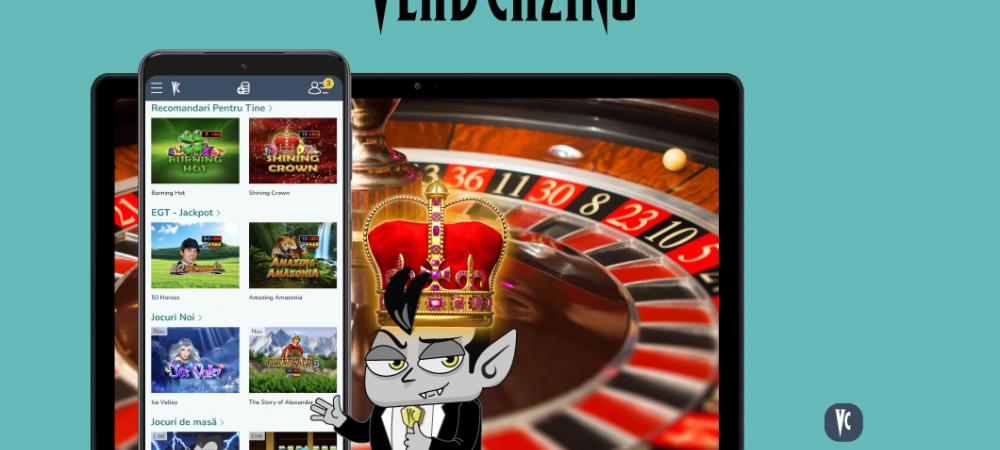 (P) Din iunie, aplicatia Vlad Cazino poate fi descarcata din Magazinul Google Play