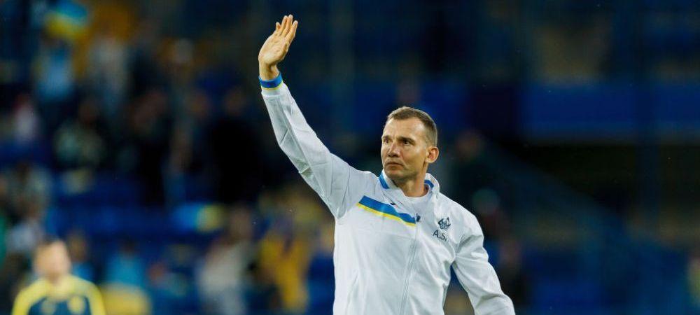 """Legendarul Andriy Shevchenko, cuvinte mari pentru Mircea Lucescu! """"Un antrenor de succes care a facut o munca extraordinara"""""""