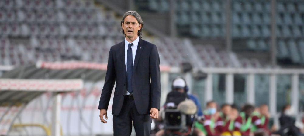 Filippo Inzaghi nu a stat mult pe bara, dupa retrogradarea din Serie A! Cu cine a semnat fostul antrenor al lui Benevento