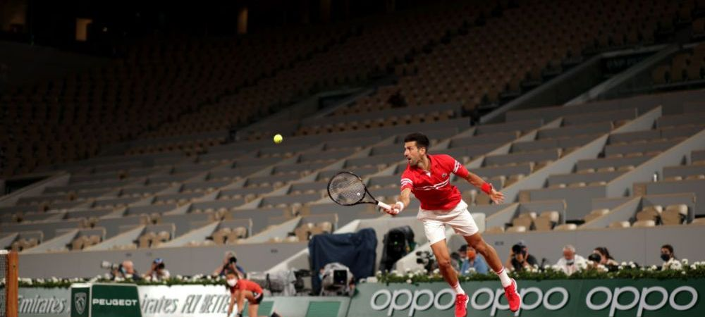 Momente incredibile la Roland Garros. Partida lui Novak Djokovic, oprita pentru 15 minute din cauza fanilor VIDEO