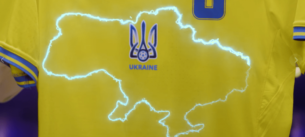 UEFA s-a razgandit! Ucraina va trebui sa isi modifice echipamentul de joc pentru Euro