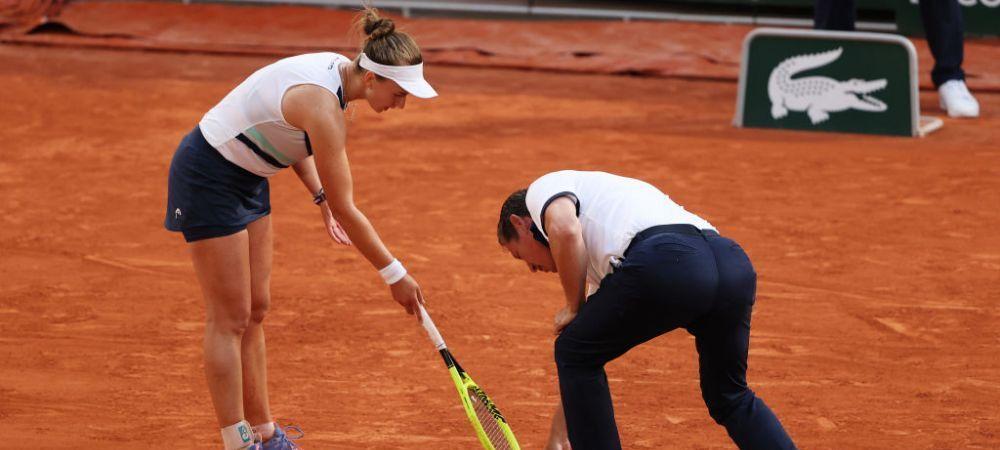 Finala neprevazuta de nimeni! Numerele 32 si 33 WTA vor juca ultimul act al turneului de la Roland Garros 2021: scandal in semifinala, arbitrul i-a refuzat calificarea Barborei Krejcikova