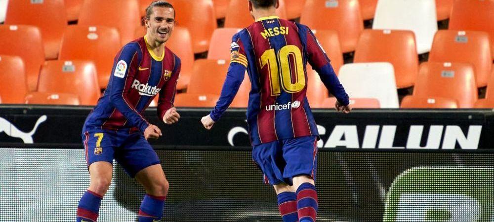 Griezmann, reactie sincera cand a fost intrebat despre relatia sa cu Messi! Ce a spus atacantul Frantei