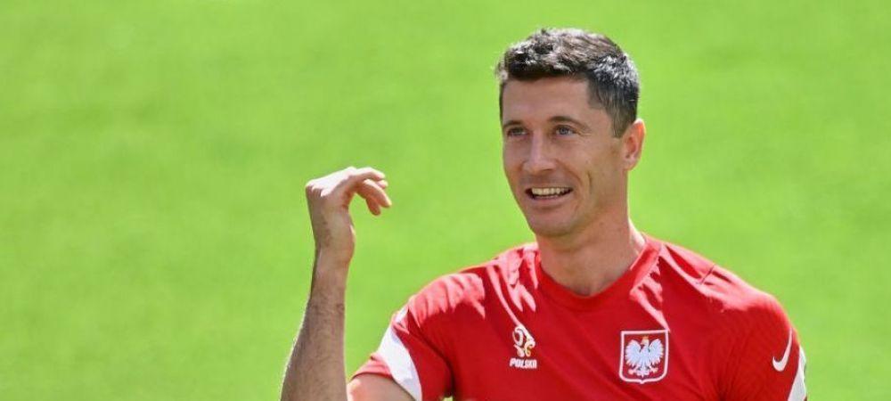 Lewandowski a facut deja prima vicima la Euro! Un fan a simtit pe propria piele mingea expediata de starul plonez