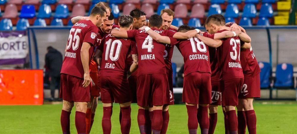 Inca un transfer pentru CFR Cluj! Oficialii campioanei i-au adus un atacant lui Sumudica